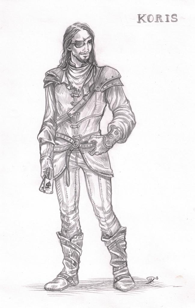 Ultima Online Charakterskizze: Koris Reeben