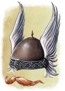 DSA: Flügelhelm