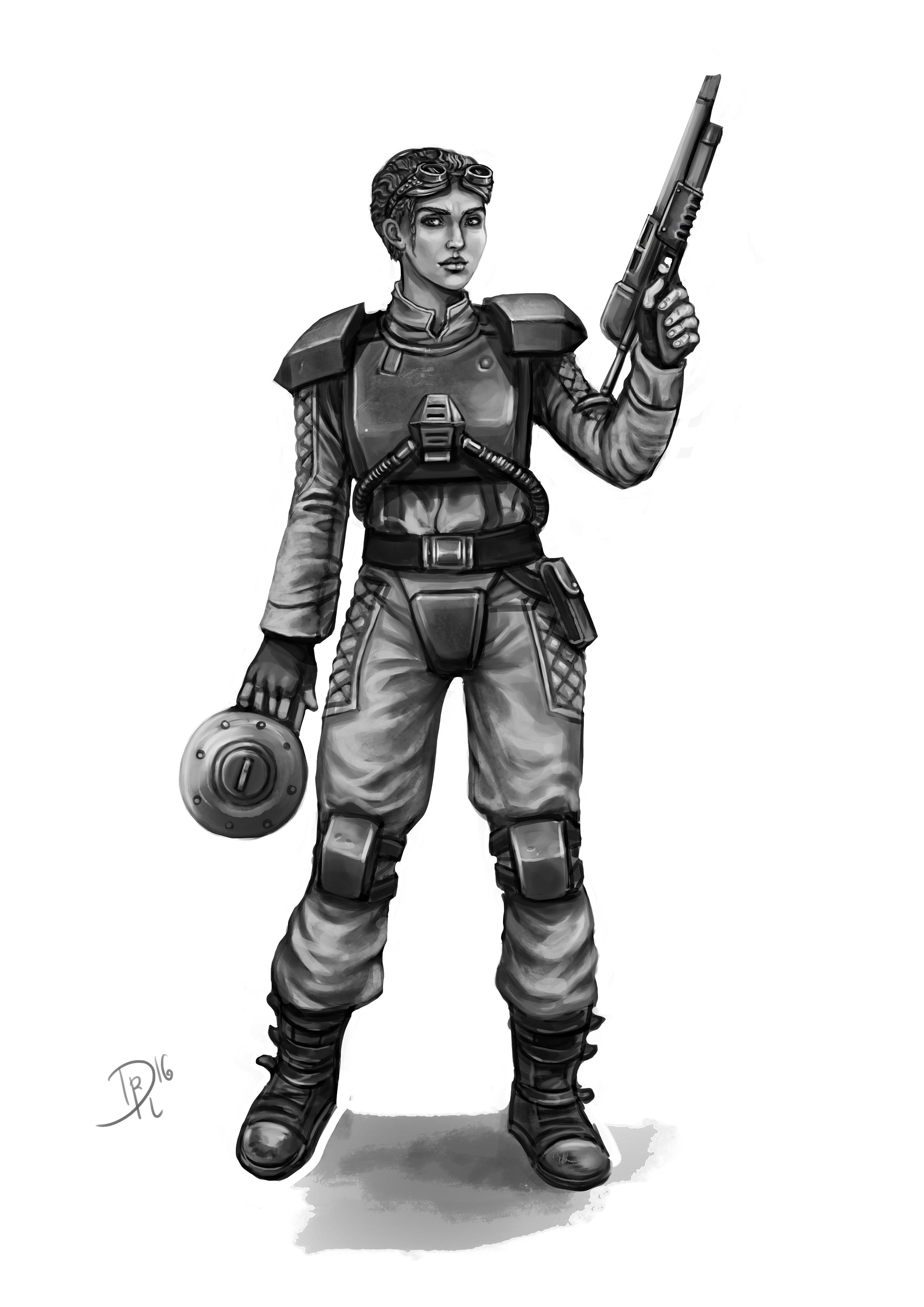 Irene Lopez, Sprungtruppe (Warhammer)