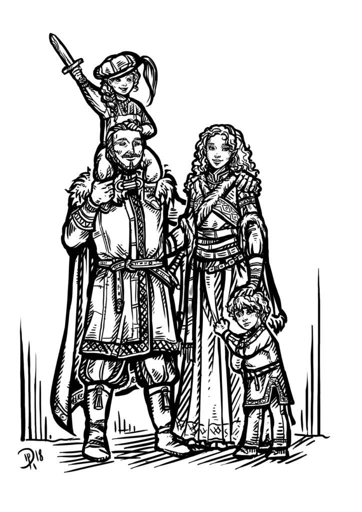 Katjenka und ihre Familie