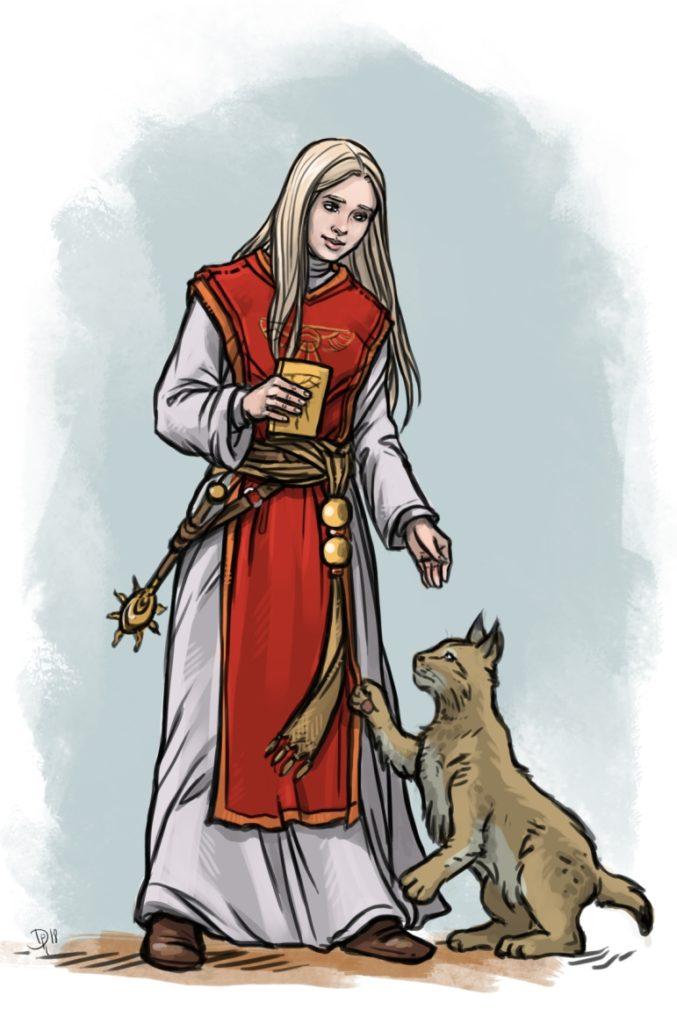 Livia, Praiosgeweihte