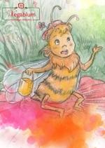 Vegablum - Bildergeschichte 'die Biene Wanda'